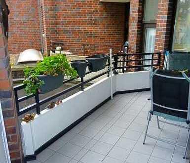Perfekte Stadtwohnung nebst Balkon / beste Anbindung und hochwertige Ausstattung inkl. Einbauküche