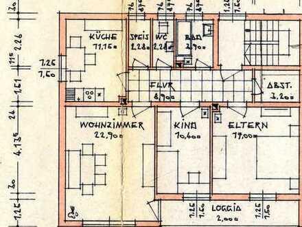 Preiswerte, gepflegte 3-Zimmer-Wohnung mit Balkon in Wolnzach