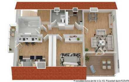 wunderschöne Wohnung mit großer Dachterrasse