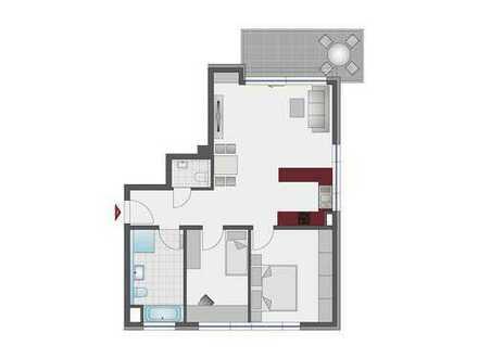 Ansprechende 3-Zi.-Wohnung mit hochwertiger Ausstattung und moderner Architektur