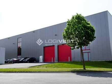 Top gepflegte Lager-und Produktionshalle ab sofort ! 200 - 500 m²