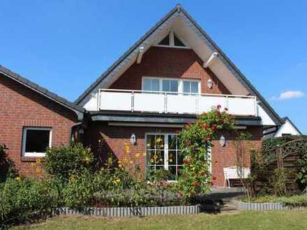 BESONDERS! Im Herzen von Arbergen: komfort.+ mod. Einfamilienhaus m. Südwest-Terrasse + Garage