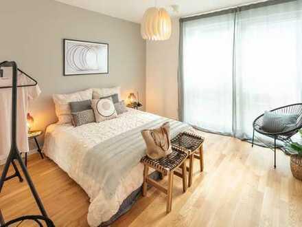 Wohlfühlwohnen! Attraktive 2-Zimmer-Wohnung mit EBK, Terrasse und sonnigem Balkon in Tübingen