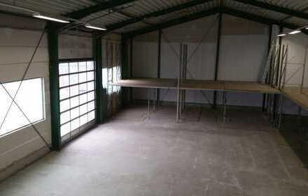 Lager Halle mit Büro und Stellplatz