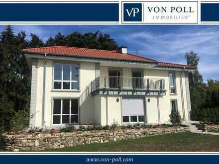 Erstbezug: 4-Zimmer-Wohnung mit luxuriöser Ausstattung und herrlichem Balkon
