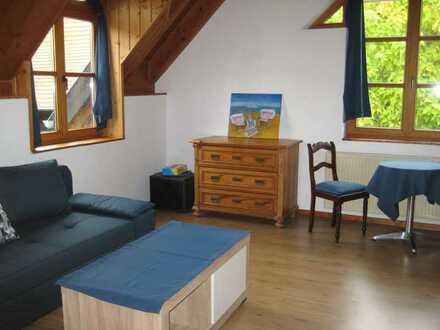 Exklusive, neuwertige 1-Zimmer-Wohnung mit EBK an Wochenendheimfahrer in Groß-Umstadt
