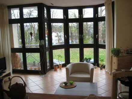 TOP- Lage!!! 1-Zimmer-Wohnung mit Balkon am Fuße des Lousbergs mit Blick ins Grüne in Aachen
