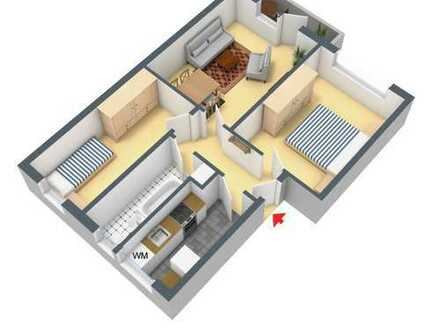 Bild_3- Raum Wohnung mit Südbalkon