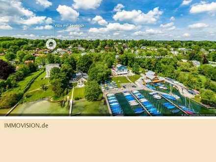 Villa mit Seeblick in Bestlage