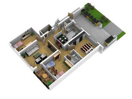Lieben Sie den Blick ins Grüne? 4 Zimmer/ 85 m², 3. Stock, Heidenheim