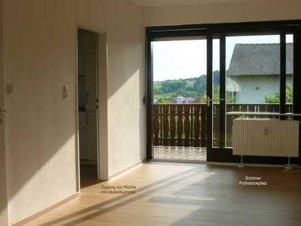 Schöne, helle 4 1/2-Zimmer-Wohnung im 1. OG eines Zweifamilienhauses in Diespeck