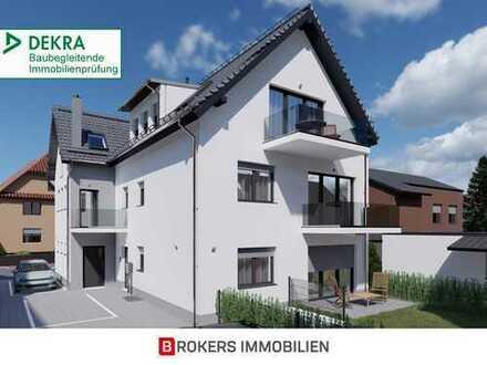 Im Unterdorf: Neubau 3-Zimmer-Maisonette-Wohnung mit Terrasse und privatem Garten