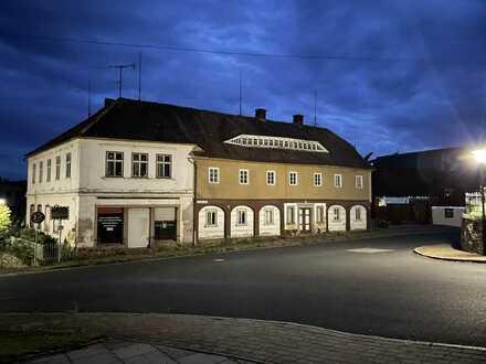 Umgebindehaus, Wohn/Geschäftshaus, Mehrgenerationenhaus sucht fleissige Handwerker