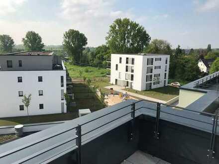 Wunderschöne helle Penthouse Wohnung mit großer Dachterasse- ERSTBEZUG!