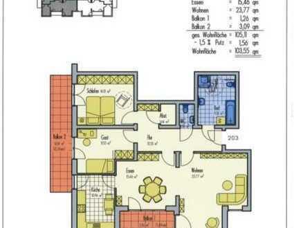 altersgerechte Seniorenwohnung mit Balkon und Einbauküche in Maxdorf
