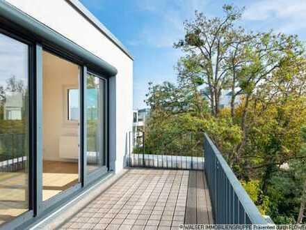 WALSER: Imposante 3-Zimmer-Dachterrassenwohnung mit Blick ins Grüne - sofort frei!