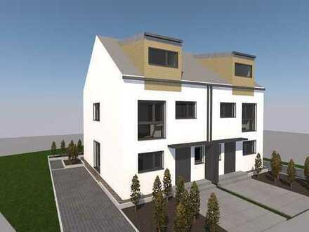 Schlüsselfertige und moderne Doppelhaushälfte