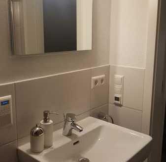 Geschmackvolle DG-Wohnung mit zwei Zimmern sowie Balkon und Einbauküche in Bad Säckingen