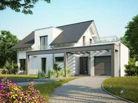 Ein eindrucksvolles Haus mit viel Licht