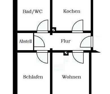 gemütliche 2-Raum Dachgeschosswohnung in Markneukirchen
