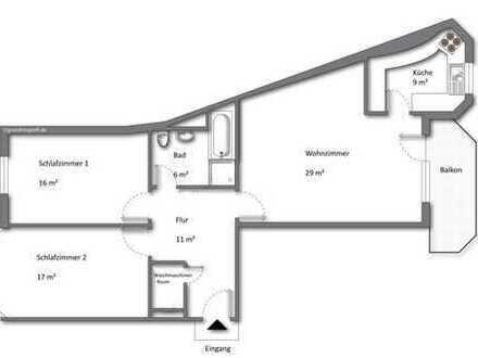 3-ZKB mit Balkon in Ortsmitte von Dreieich-Sprendlingen
