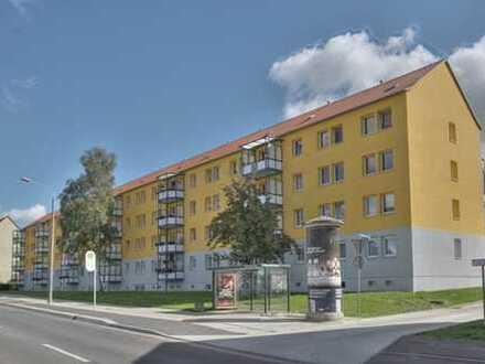 3-Raum-Wohnung mit 2 Balkonen