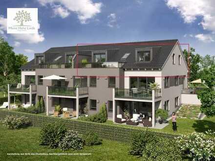 Erstbezug: 3-Zimmer-DG-Wohnung mit Dachterrasse und Aufzug in Hohenlinden