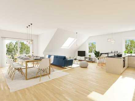NEUBAU - WOHNEN & LEBEN im AVIS PARK in Schongau - Herrliche 4-Zimmer Dachgeschosswohnung