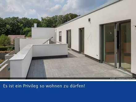 Barrierefreies Komfort-Penthouse - ca. 150m² - 4 Zi. - perfekte 56m² große Dachterrasse