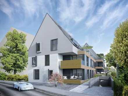 Hochwertige 3,5 Zimmer-Erdgeschoss-Neubauwohnung im Ortskern von Magstadt