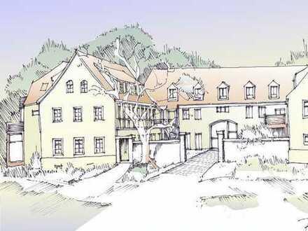 Wohnen im Dreiseitenhof - Denkmalschutzsanierung