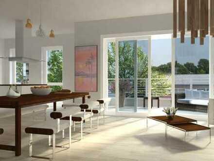 Hollenders Immobilien: Moderne Neubau-Erdgeschosswohnung mit Gartenanteil