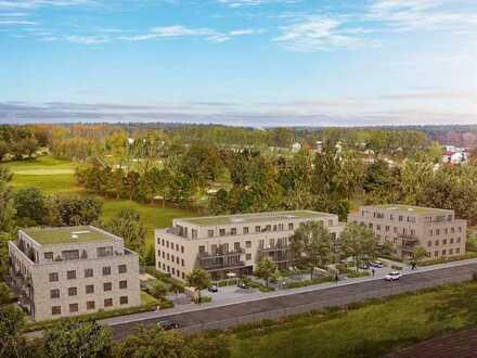 Großzügig geschnittene 3-Zimmer-Wohnung mit großem Balkon, barrierefrei nutzbar - WE 64