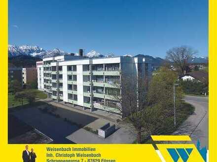 Gepflegtes Appartement mit Westbalkon und schönem Bergblick