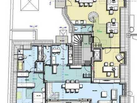 2-Zi-Penthouse / Loftwohnung mit Galerie und Dachterrasse ca. 135 qm optional mit 90 qm Büro