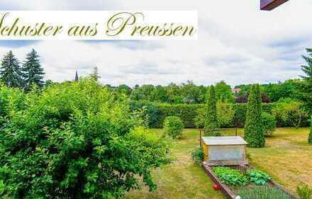 Schuster aus Preussen - Eberswalde Finow - großes Grundstück mit Wohnhaus und separatem - ca. 250...