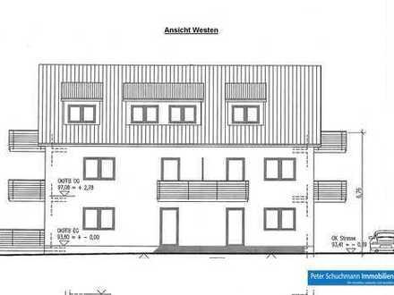 Griesheim!**Neubau – Erstbezug! 4 Zimmerwohnung im Dachgeschoss mit 2 Balkonen**