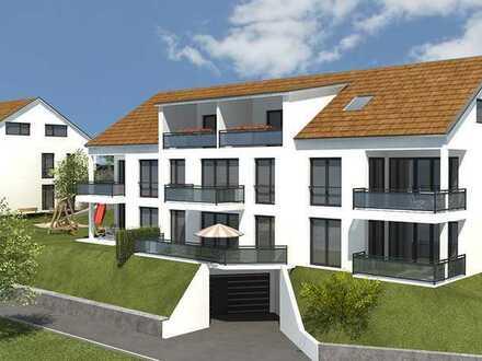 Attraktive 3-Zimmer-Neubauwohnung mit Balkon und Tiefgarage in Germaringen - Erstbezug