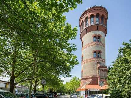 Außergewöhnlich Wohnen und Arbeiten - Denkmal-Wasserturm mit Lift und Panoramablick!