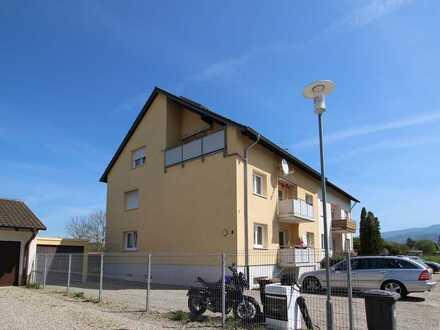 3-Zi.-DG-Wohnung in schöner Ortsrandlage mit Garage und ggf. ausbaufähigen Speicher