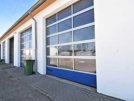 Verwaltungsgebäude mit 8 LKW/Bus Hallen in Andernach