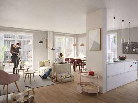 Urbane Hochwertigkeit: 3,5-Zi.-Wohnung mit 2 Bädern + 2 Loggien in Eimsbüttel