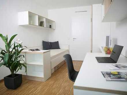 Für Studenten: möbliertes Zimmer in 2er-WG mit Balkon! *CAMPO NOVO Mainz*