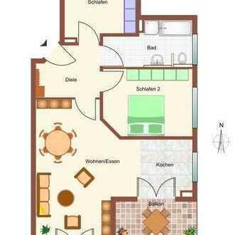 Neuwertige, moderne 3-Zimmer-Wohnung mit Balkon in Penzing / Ramsach