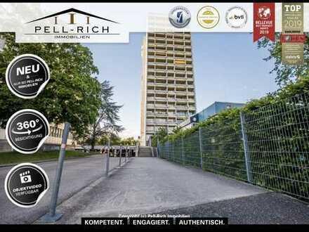 BLICKFANG - Vermietete und gepflegte Wohnung mit Weitblick in KA-Rüppurr!
