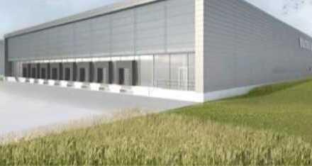 """""""BAUMÜLLER & CO."""" - ca. 25.000 m² neuwertige Logistikhalle - Rampenlager an BAB"""