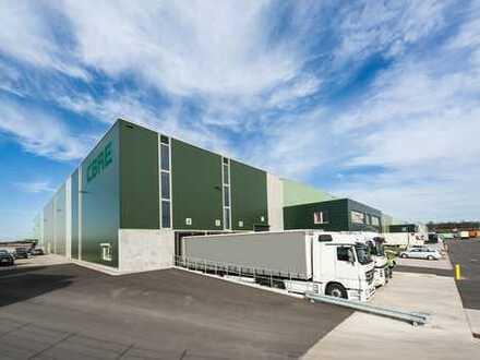 Projektierter Neubau: Ca. 50.000 m² Logistik- und Produktionsfläche