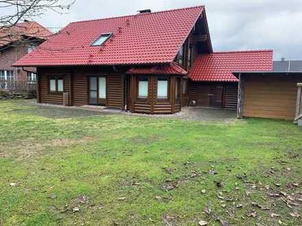 Exklusives Holzhaus in ruhiger Lage von Ense-Höingen