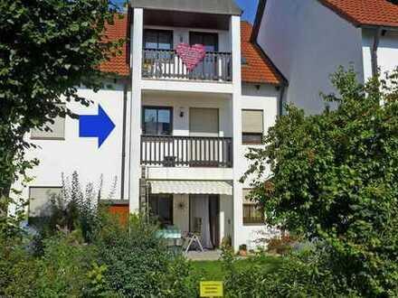 Kapitalanlage! Schöne 3-Zimmer-Wohnung in Graben - Nähe der B17