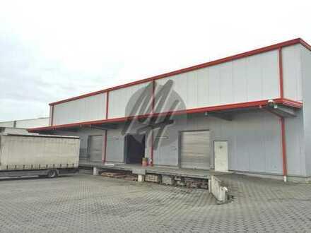 SOFORT VERFÜGBAR ✓ NÄHE BAB ✓ Lagerflächen (550 m²) & optional Büroflächen (50-250 m²) zu vermieten